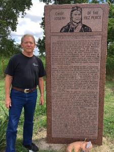 Jim Zimmerman, past President of the NPTF, follows the journey of the captured Nez Perce through Kansas and Oklahoma